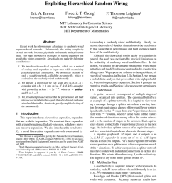 packaging and multiplexing of hierarchical scalable expanders request pdf [ 850 x 1100 Pixel ]