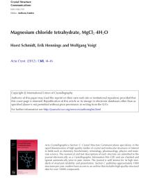 pdf magnesium chloride tetrahydrate mgcl 2 4h 2 o [ 850 x 1107 Pixel ]