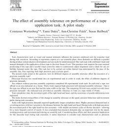 pdf the effect of assembly tolerance on performance of a tape application task a pilot study [ 850 x 1160 Pixel ]