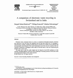 pdf study recycling of plastic and crts from electronic waste [ 850 x 1201 Pixel ]