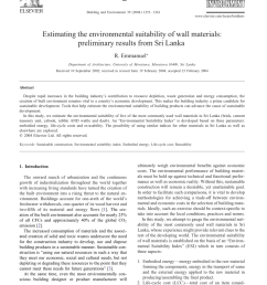 pdf embodied energy of alternative building materials and their impact on life cycle cost parameters [ 850 x 1135 Pixel ]