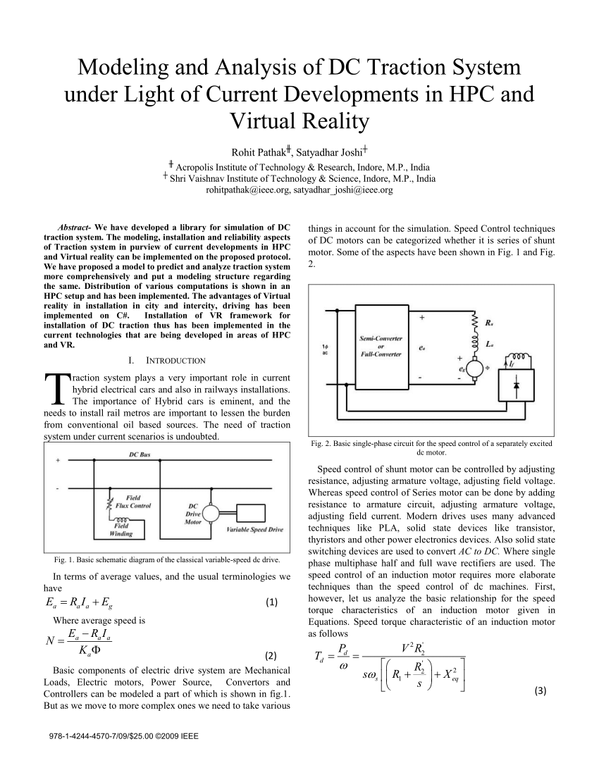 medium resolution of basic single phase circuit for the speed control of a separately download scientific diagram