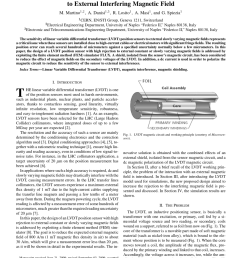 pdf design of a linear variable differential transformer with high rejection to external interfering magnetic field [ 850 x 1134 Pixel ]