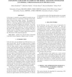 medial axis approximation with discrete centroidal voronoi diagrams on discrete data request pdf [ 850 x 1100 Pixel ]