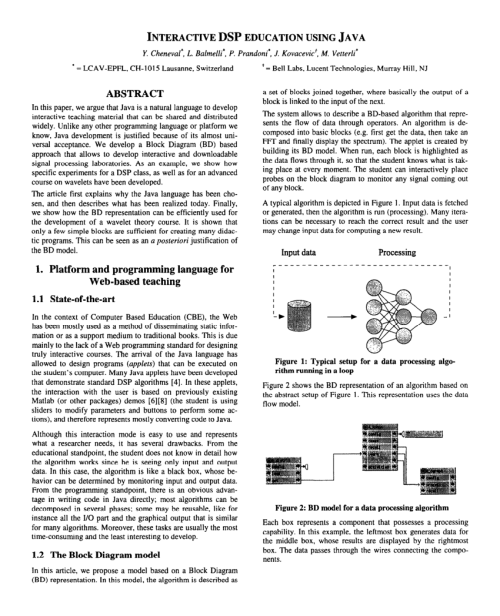 small resolution of  pdf interactive dsp education using java