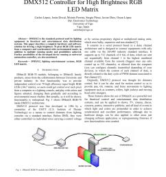 pdf dmx512 controller for high brightness rgb led matrix [ 850 x 1100 Pixel ]