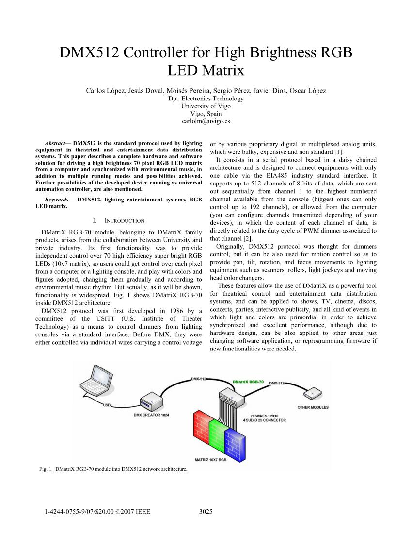 medium resolution of  pdf dmx512 controller for high brightness rgb led matrix