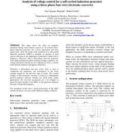 an independent active and reactive power control of an isolated asynchronous generator in 3 phase 4 wire applications request pdf [ 850 x 1203 Pixel ]
