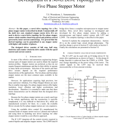 pdf a study of development of a dedicated control ic for a five phase stepper motor driver [ 850 x 1100 Pixel ]