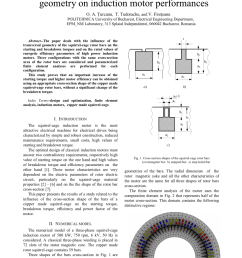 pdf influence of squirrel cage bar cross section geometry on induction motor performances [ 850 x 1203 Pixel ]