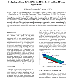 pdf toggle switch a new type of rf mems switch for power applications [ 850 x 1203 Pixel ]