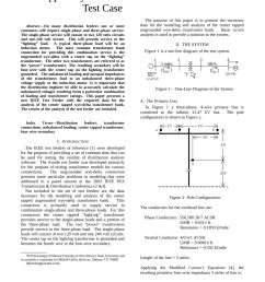 pdf center tapped wye delta transformer bank test case [ 850 x 1100 Pixel ]