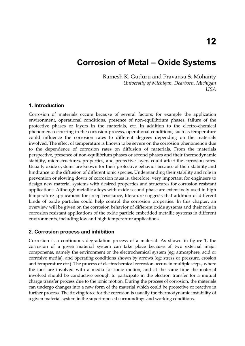 hight resolution of  pdf corrosion of metal oxide systems