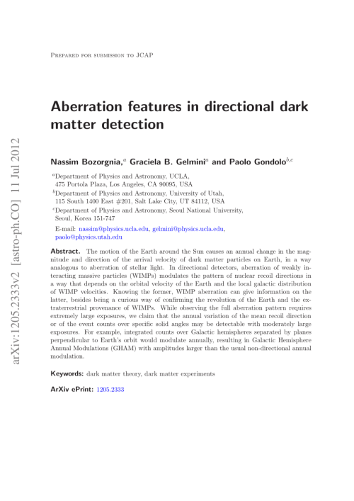 small resolution of  pdf probing the local velocity distribution of wimp dark matter with directional detectors