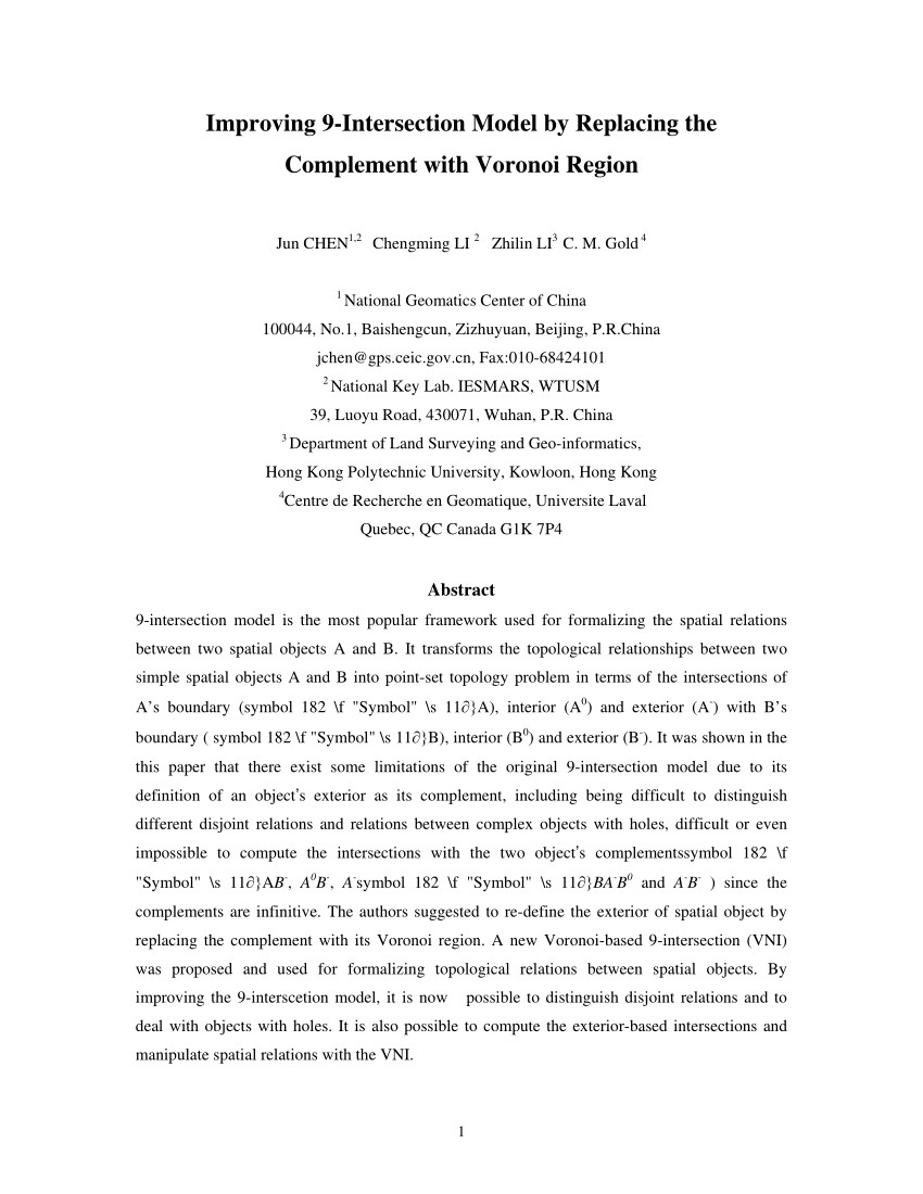 medium resolution of  pdf a voronoi based pivot representation of spatial concepts and its application to route descriptions expressed in natural language