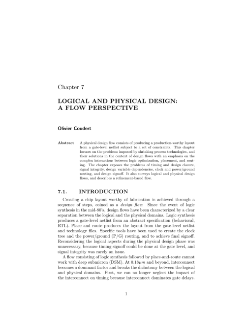 small resolution of simultaneous routing and buffer insertion with restrictions on buffer locations request pdf