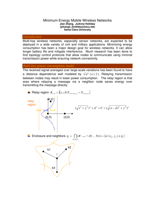 small resolution of qos topology control with minimal total energy cost in ad hoc wireless networks hai liu request pdf