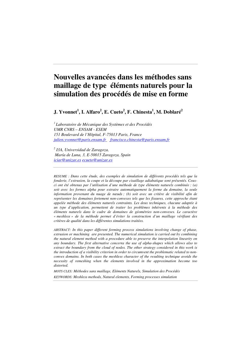 medium resolution of diagramme de voronoi et construction des fonctions de forme si l on download scientific diagram