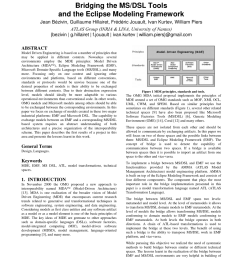pdf bridging the ms dsl tools and the eclipse modeling framework [ 850 x 1203 Pixel ]