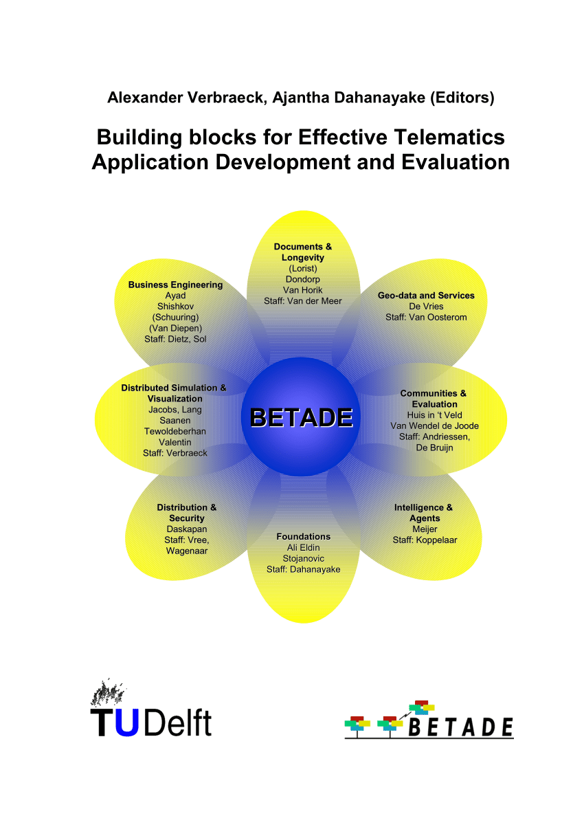 hight resolution of  pdf building blocks for effective telematics application development and evaluation