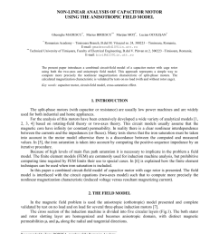pdf non linear analysis of capacitor motor using the anisotropic field model [ 850 x 1203 Pixel ]