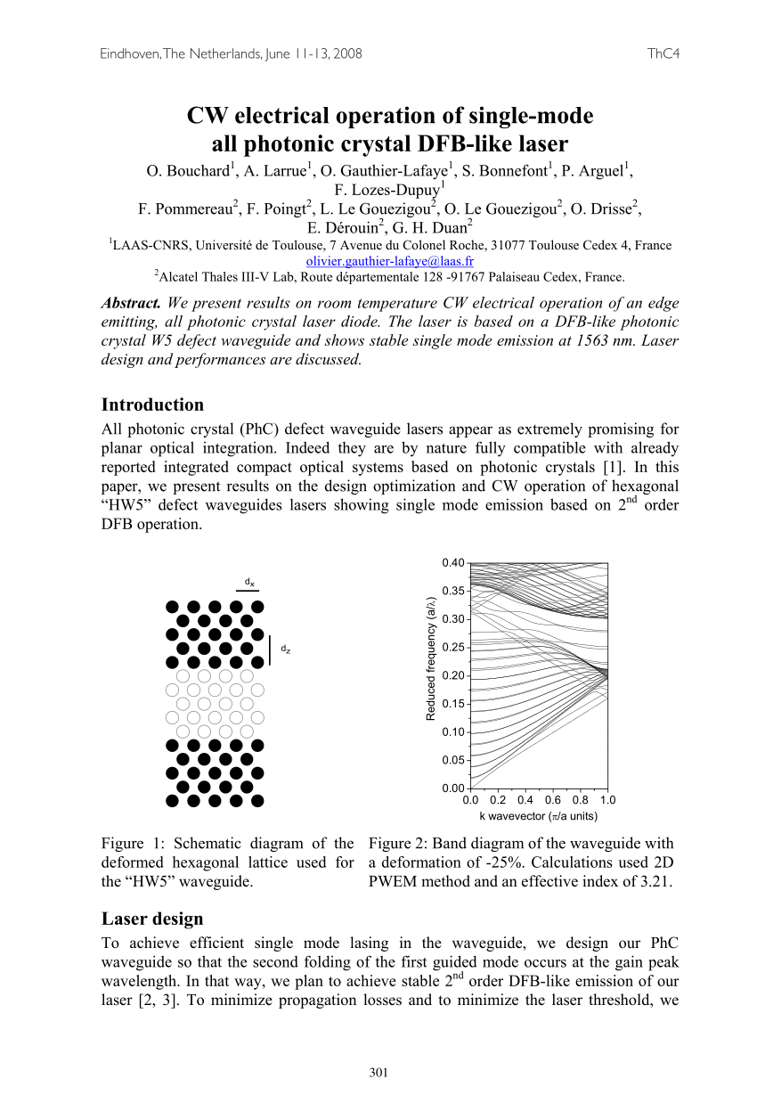 hight resolution of  pdf recent advances toward optical devices in semiconductor based photonic crystals