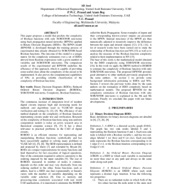 pdf complexity of xor xnor boolean functions a model using binary decision diagrams and back propagation neural networks [ 850 x 1203 Pixel ]