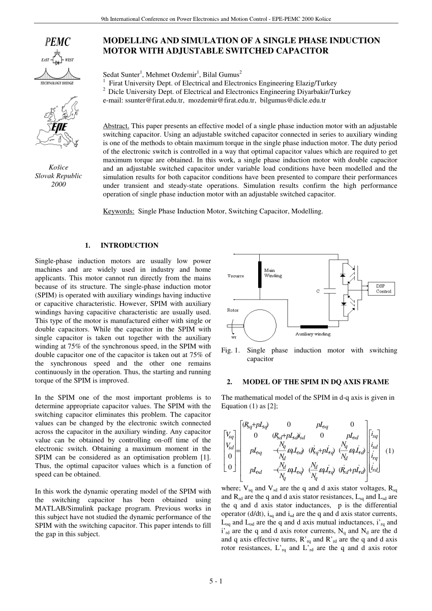 hight resolution of  pdf split phase motor running as capacitor starts motor and as capacitor run motor