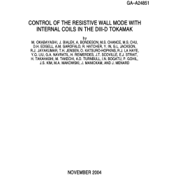pdf control of the resistive wall mode with internal coils in the diii d tokamak [ 850 x 1100 Pixel ]