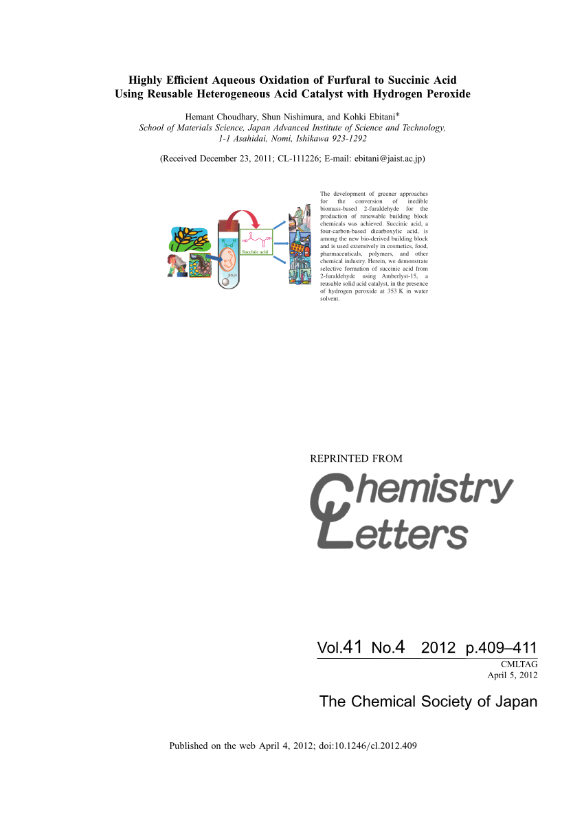 medium resolution of oxidation of furfural in aqueous h2o2 catalysed by titanium silicalite deactivation processes and role of extraframework ti oxides request pdf