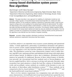 pdf three phase transformer and voltage regulator modelling for forward backward sweep based distribution system power flow algorithms [ 850 x 1275 Pixel ]