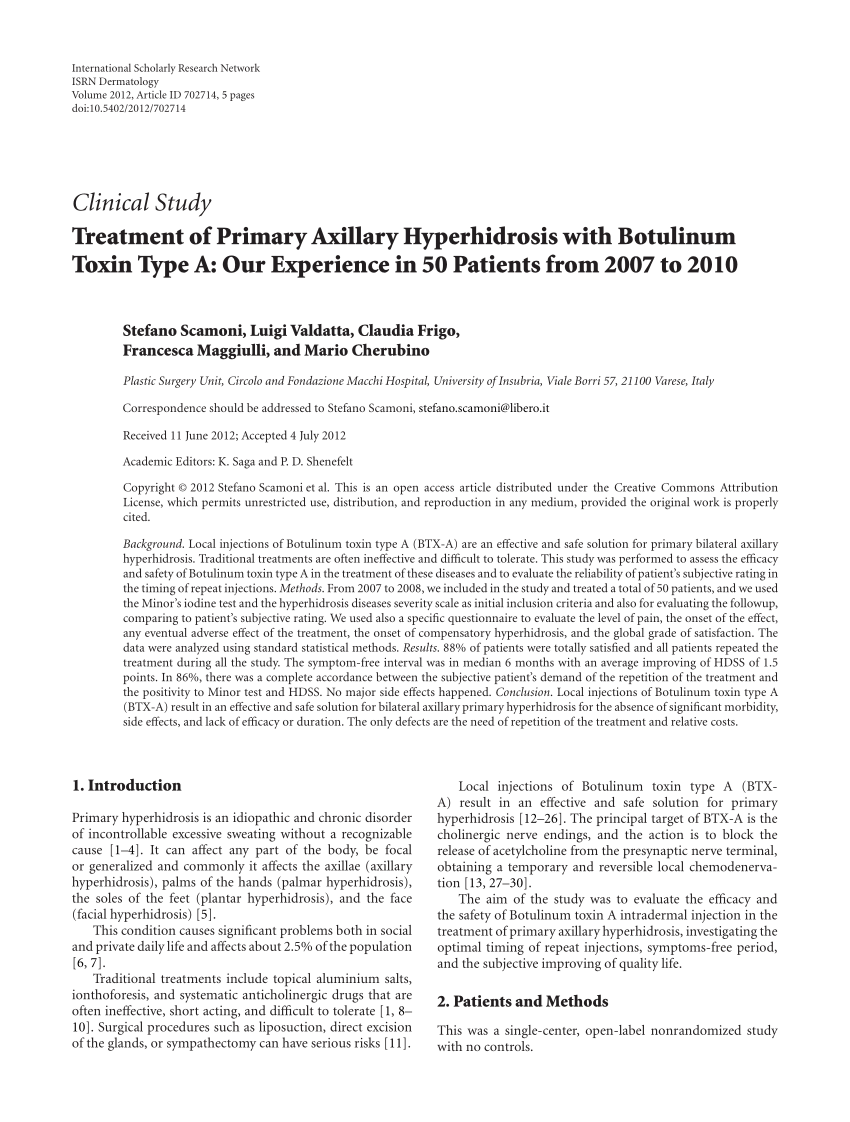 medium resolution of 100 u of botox allergan inc irvine ca usa download scientific diagram