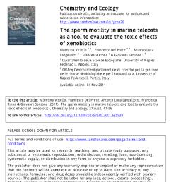 impairment of sea urchin sperm quality by uv b radiation predicting fertilization success from sperm motility d w t au request pdf [ 850 x 1213 Pixel ]