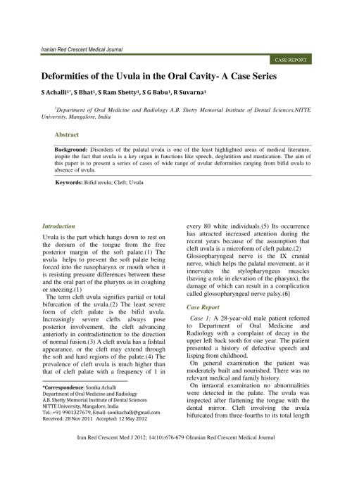small resolution of uvula diagram