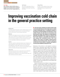 Pdf vaccination management and errors  representative online survey among primary care physicians also rh researchgate