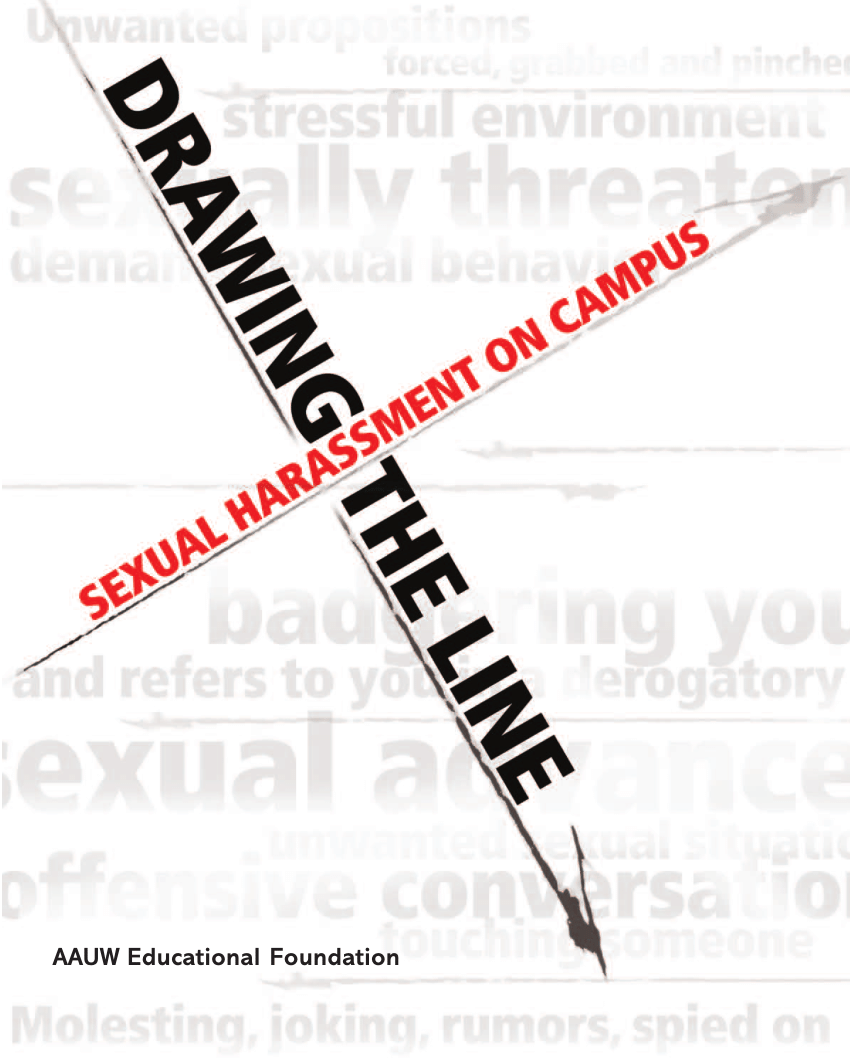 (PDF) Drawing the Line: Sexual Harassment on Campus