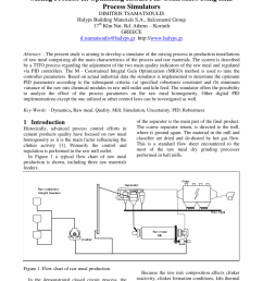 pdf modeling of raw material mixing process in raw meal grinding installations [ 850 x 1202 Pixel ]