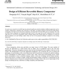pdf design of efficient reversible binary comparator [ 850 x 1160 Pixel ]