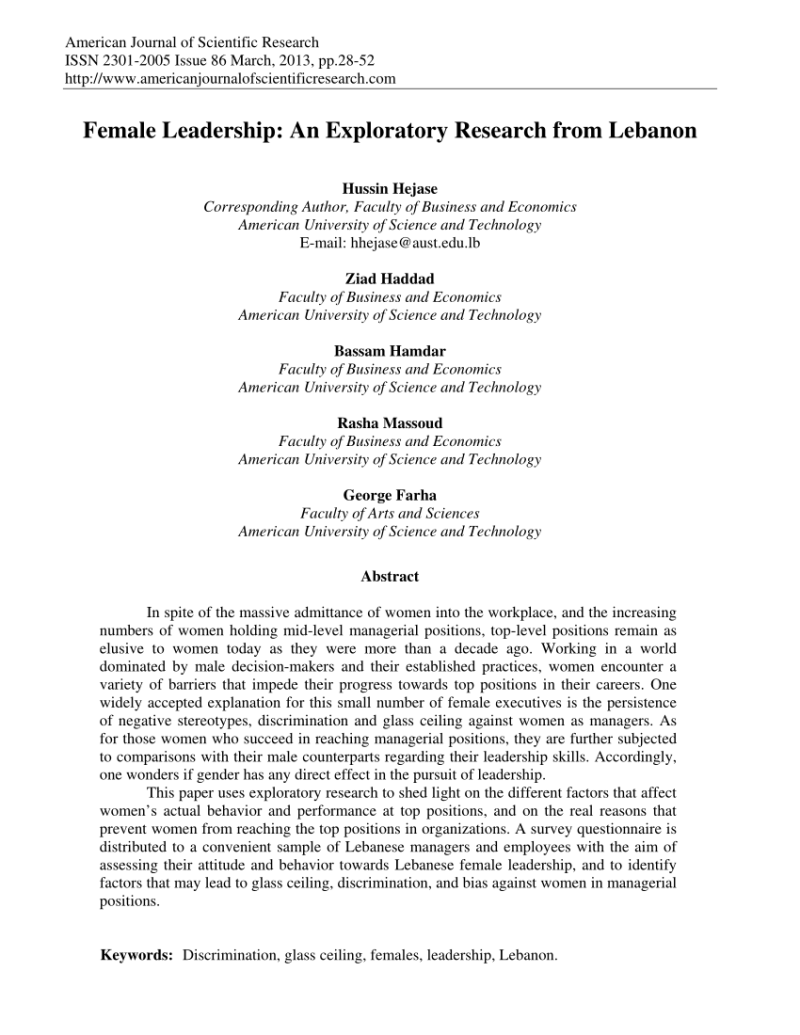 term paper on leadership pdf Research linking leadership practice with school improvement  directions, and, for the purposes of this paper, will be narrowed to an analysis of  www learninggovabca/k_12/special/aisi/uoflevalmodels_2003pdf.