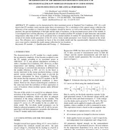 pdf effect of illumination intensity on solar cells parameters [ 850 x 1203 Pixel ]