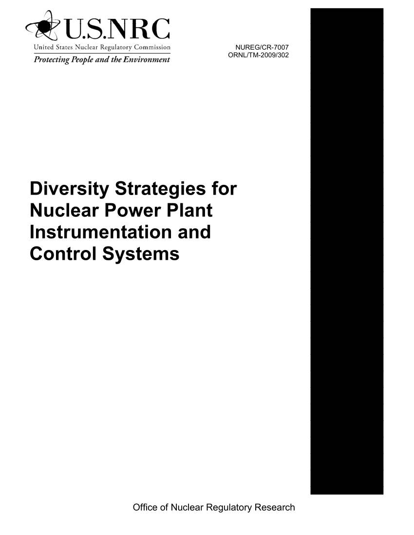 (PDF) Diversity Strategies for Nuclear Power Plant
