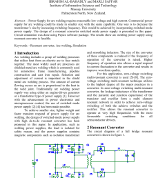 pdf resonant converter power supply for arc welding application [ 850 x 1203 Pixel ]