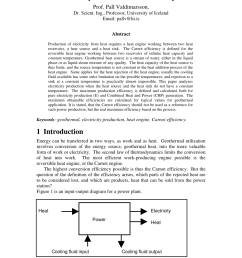 pdf production of electricity from geothermal heat efficiency calculation and ideal cycles [ 850 x 1203 Pixel ]