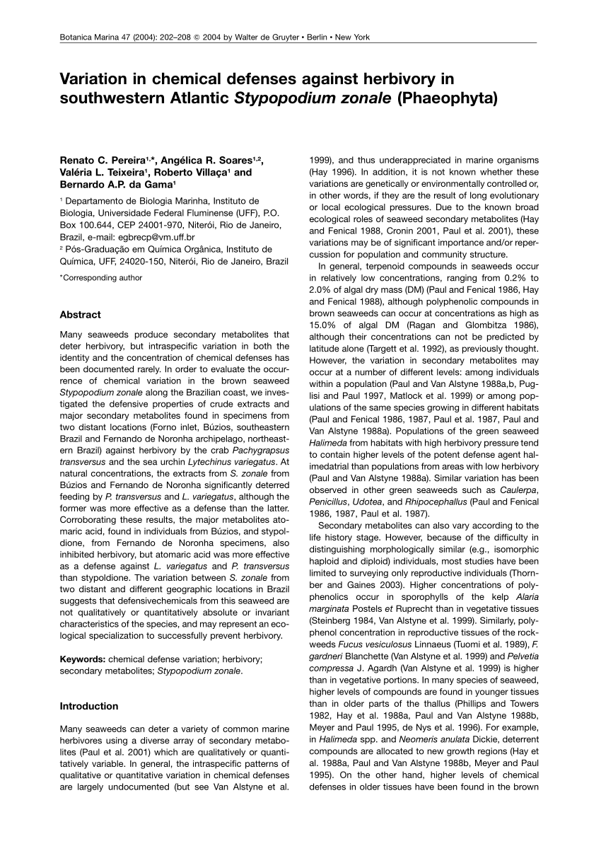 medium resolution of  pdf spatial and temporal variation of haploids and diploids in populations of four congeners of the marine alga mazzaella