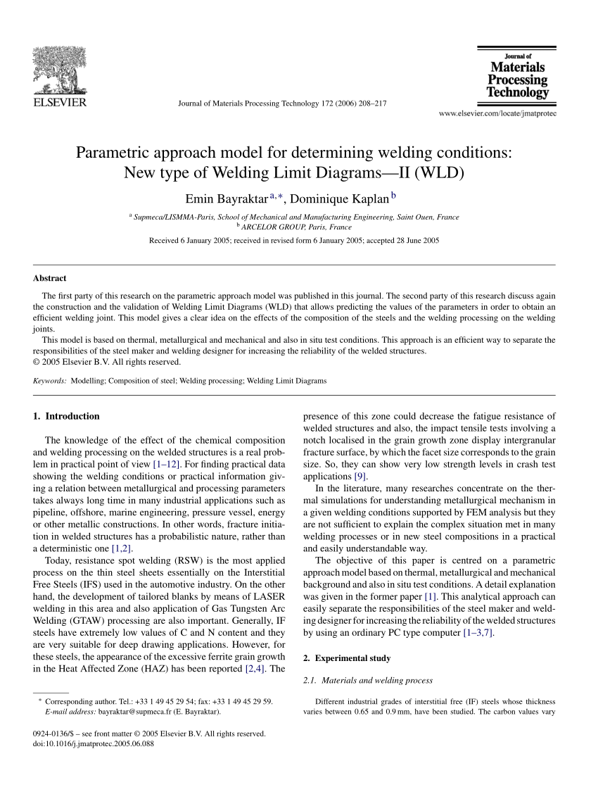 medium resolution of  pdf study of machining parameters on the surface integrity in electrical discharge machining