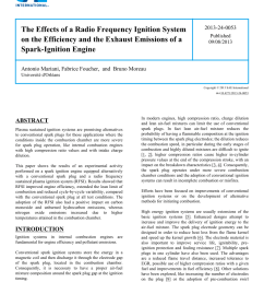 pdf the effects of a radio frequency ignition system on the efficiency and the exhaust emissions of a spark ignition engine [ 850 x 1100 Pixel ]
