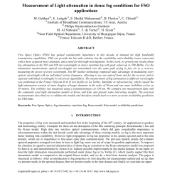 pdf measurement of light attenuation in dense fog conditions for fso applications [ 850 x 1100 Pixel ]