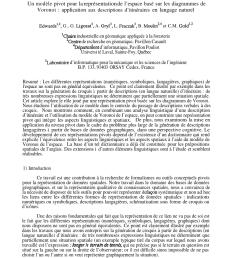 pdf un mod le pivot pour la repr sentation de l espace bas sur les diagrammes de voronoi application aux descriptions d itin raires en langage naturel [ 850 x 1101 Pixel ]