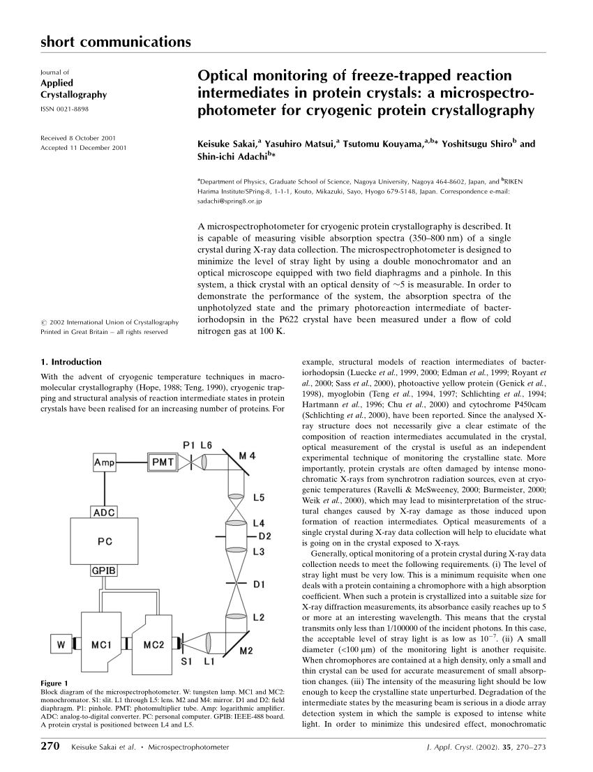 medium resolution of  pdf protein ligand interaction probed by time resolved crystallography