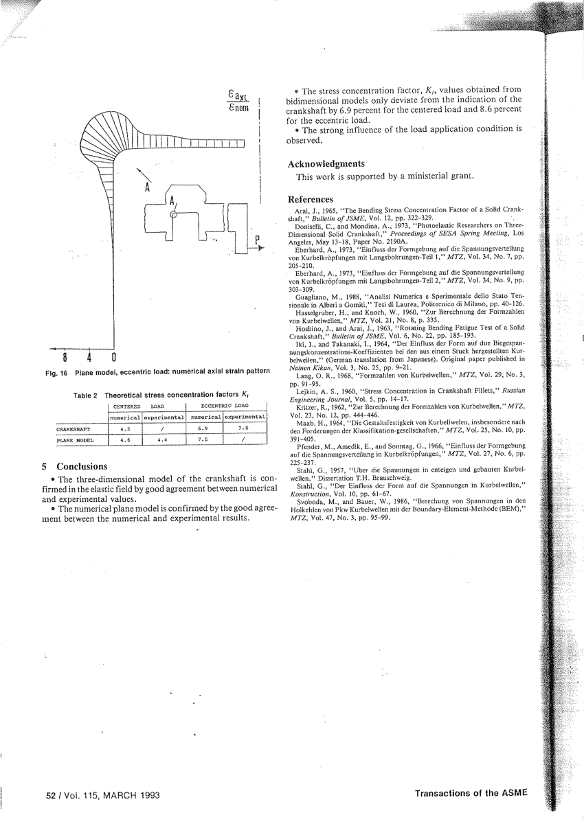 medium resolution of  pdf kinematics and load formulation of engine crank mechanism
